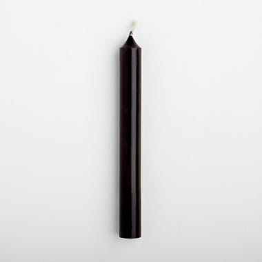 Taper_Candle_Black_Single