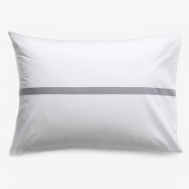 Tatami Gray Pillowcase Set