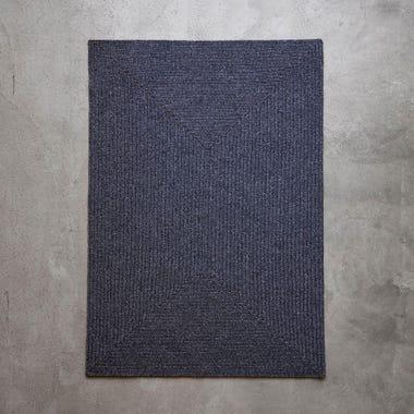 Tate Graphite Braided Rug 5' x 8'