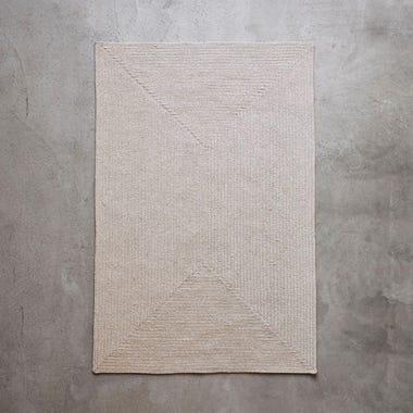 Tate Stone Braided Rug 5' x 8'