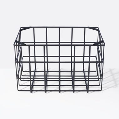 Tower Black Large Stackable Basket