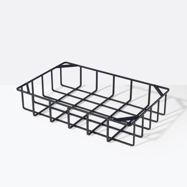 Tower Black Stackable Basket