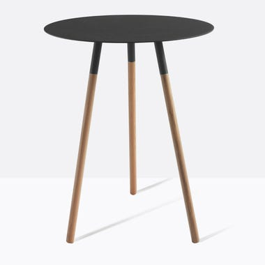 Tri Black Side Table