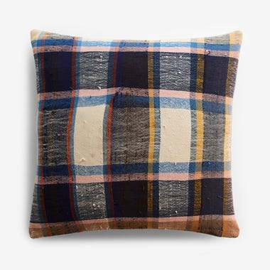 "Palmer Plaid Throw Pillow Cover 20"" x 20"""