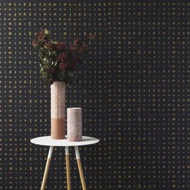 Lattice Gold Wallpaper