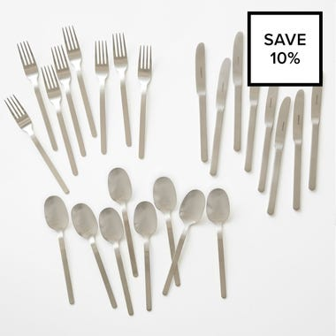 Walter Stainless Steel Flatware 24pc Bundle