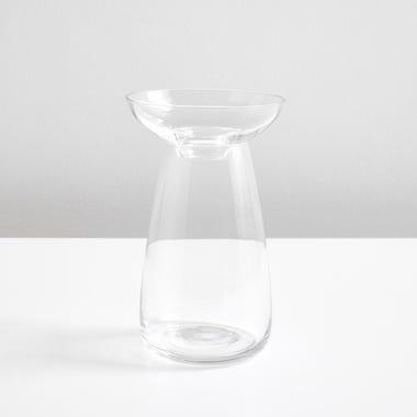 Bulb Clear Large Vase
