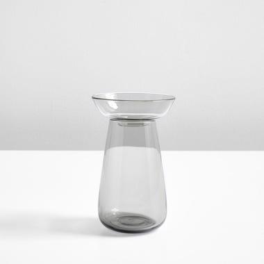 Bulb Gray Small Vase