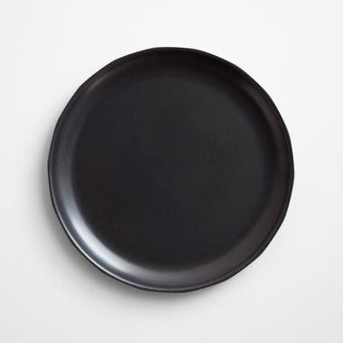 Alfresco Black Dinner Plate